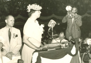 Eleanor Roosevelt Addresses 1940 Convention