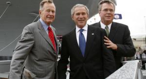George, George and Jeb.