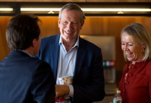 George Pataki at a Chipotle in Manchester, NH
