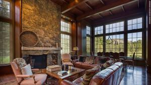 Fuld's Bigwood estate in Sun Valley, Idaho