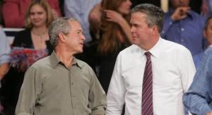 George W. and Jeb  (AP Photo/Mari Darr~Welch, File)
