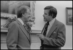 Carter with Idaho Senator Frank Church