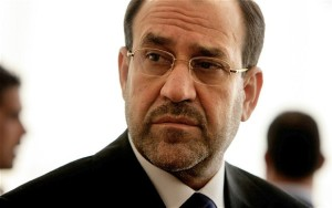 Former Iraqi Prime Minister Nuri al-Maliki