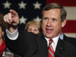 Illinois Republican Senator Mark Kirk.