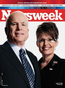 McCain and Sarah Palin
