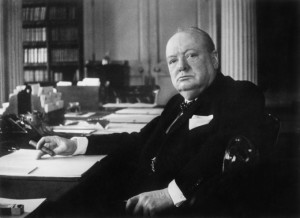 Winston Churchill authorized British propaganda efforts in 1940-1941, but didn't attempt to weaken American democracy