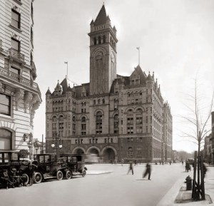 The grand Old Post Office in Washington, D.C. pre-Trump.